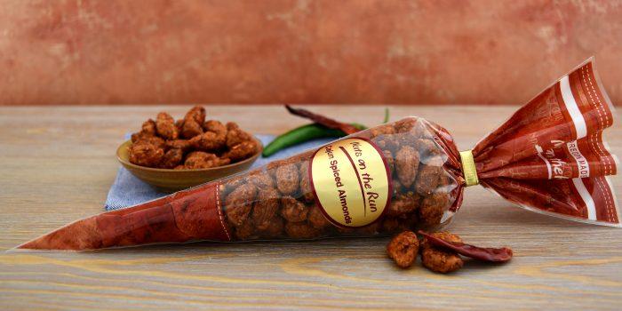 Cajun Almonds Cone