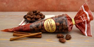 Cinnamon Vanilla Almonds Cone