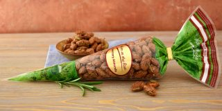 Rosemary Almonds Cone
