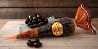 Dark Chocolate Almonds Cone