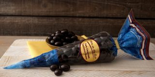 Dark Chocolate Espresso Beans Cone