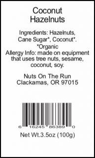Coconut Hazelnuts