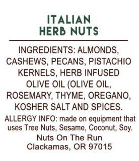 Italian Herb Nuts