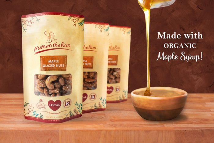 Maple Glazed Nuts - set of 3